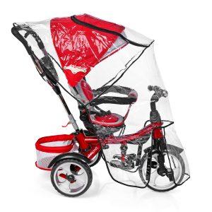 Cubrelluvia para triciclo